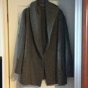 Ladies Sweater Coat w/Hood Size M by Vince